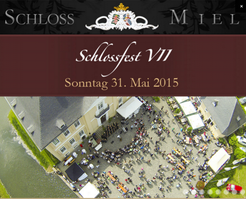Schlossfest Miel 2015