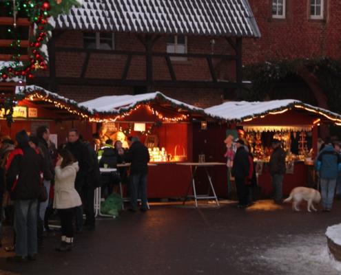 Weihnachtsmarkt Burg Heimerzheim 2015