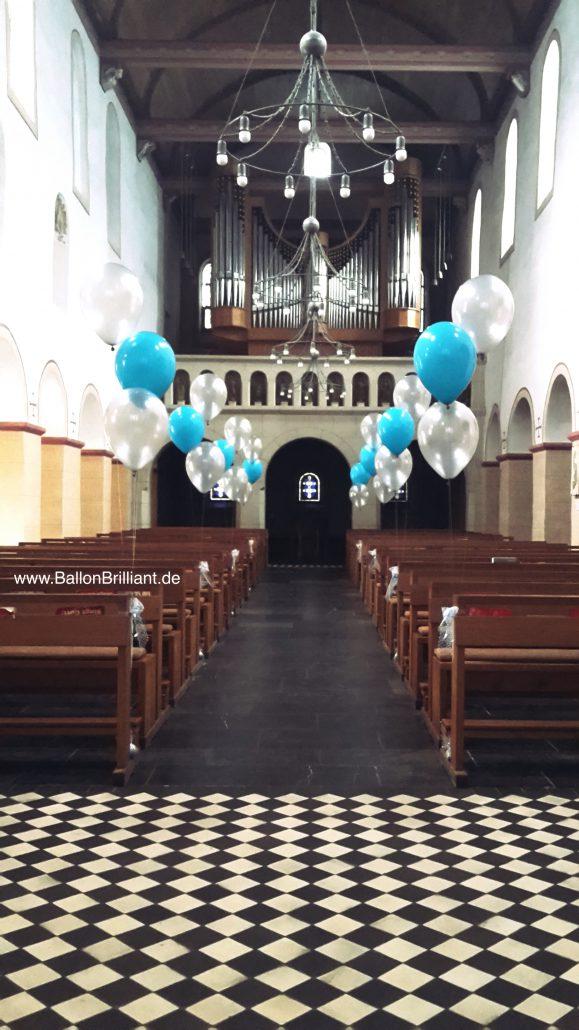 Kirchen Deko Hochzeit Ballonbrilliant